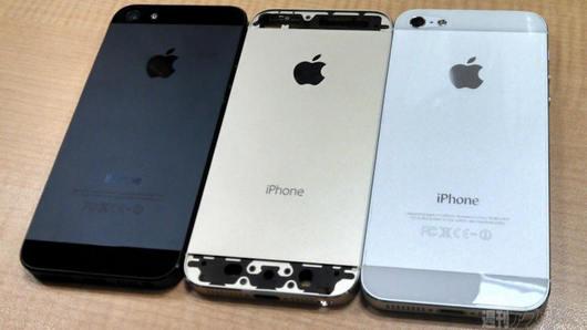 Foto trapelate mostrano il nuovo iPhone 5S nelle colorazioni: Nero, Oro e Bianco ...